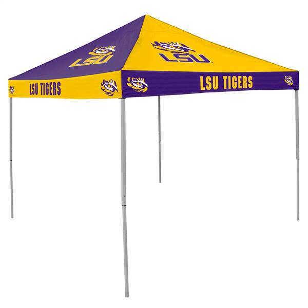LSU Louisiana State University Tigers 9 X 9 Checkerboard Canopy - Tailgate Tent