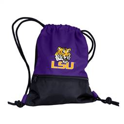 LSU Louisiana State University String Pack Tote Bag Backpack Carry Case