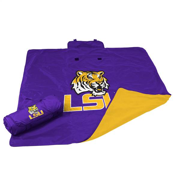 Louisiana State University LSU Tigers All Weather Blanket 73 -All Weather Blkt