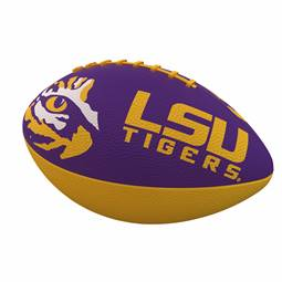 LSU Louisiana State University Tigers Junior Size Rubber Football