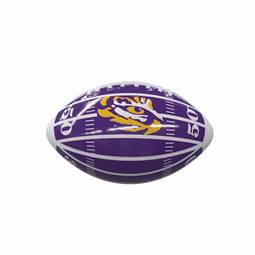 Louisiana State University LSU Tigers Field Mini-Size Glossy Football 93MG - MS Glossy FB