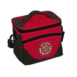 University of Louisiana Layafette Ragin Cagin Halftime Lunch Bag 9 Can Cooler