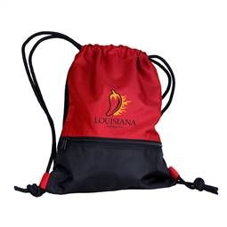 Lunversity of Louisiana Lafayette String Pack Tote Bag Backpack Carry Case