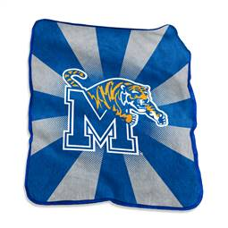 University of Memphis Tigers Raschel Throw Blanket
