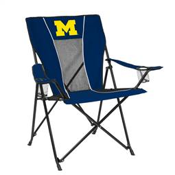 University of Michigan Wolverines Game Time Chair Folding Tailgate