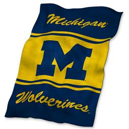 University of Michigan Wolverines UltraSoft Blanket - 84 X 54 in.