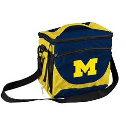 University of Michigan Wolverines 24 Can Cooler