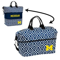 University of Michigan Wolverines Expandable Tote Bag