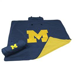 University of Michigan Wolverines All Weather Stadium Blanket