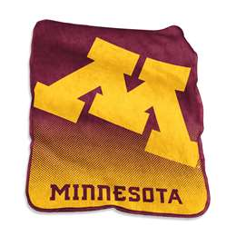 University of Minnesota Golden Gophers Raschel Throw Fleece Blanket