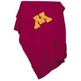 University of Minnesota Golden Gophers  Sweatshirt Blanket 84 X 54 Inches