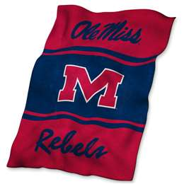 Ole Miss University of Mississippi UltraSoft Blanket