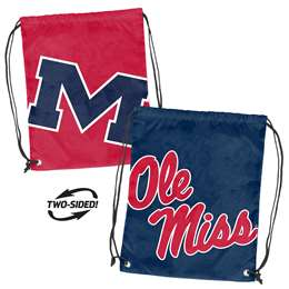 Ole Miss University of Mississippi Doubleheader Backsack