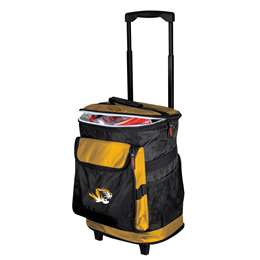 University of Missouri Tigers 48 Can Rolling Cooler