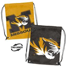 University of Missouri Tigers Doubleheader Backsack 87D - Dbl Head Strin