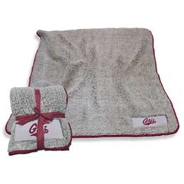 "University of Montana Grizzlies Frosty Fleece Blanket 60"" X 50"""