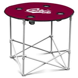 University of Montana Grizziles  Round Table Folding Tailgate Camping