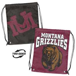 University of Montana Grizziles Doubleheader Back Sack