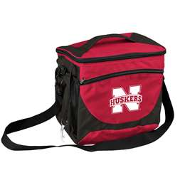 University of Nebraska Corn Huskers 24 Can Cooler