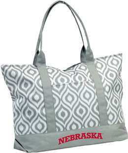 University of Nebraska Corn Huskers Ikat Tote 66K - Ikat Tote