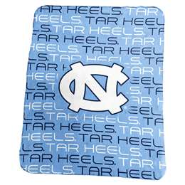 University of North Carolina Tar Heels Classic Fleece Throw Blanket