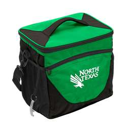 North Texas State University Mean Green 24 Can Cooler