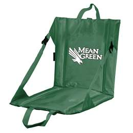 North Texas State University Mean Green Stadium Seat