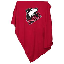 Northern Illinois University Sweatshirt Blanket 84 x 113
