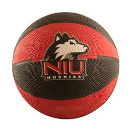 Northern Illinois Mini-Size Rubber Basketball 91MR- MS Rubber BB