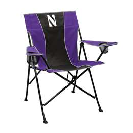Northwestern University Wildcats Pregame Chair Folding Tailgate