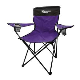 Northwestern University Wildcats Legacy Folding Chair with Carry Bag
