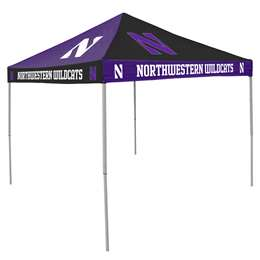 Northwestern University Wildcats  9 ft X 9 ft Tailgate Canopy Shelter Tent