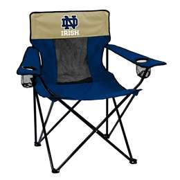 Notre Dame University Fighting Irish Elite Folding Chair with Carry Bag