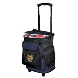 Notre Dame University Fighting Irish 48 Can Rolling Cooler
