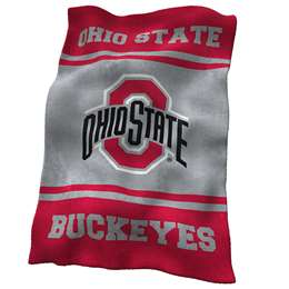 Ohio State University Buckeyes Ultrasoft Throw Blanket
