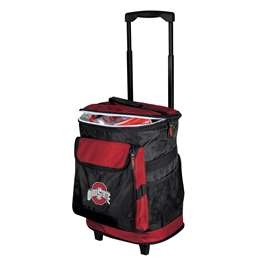 Ohio State University Buckeyes 48 Can Rolling Cooler