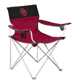 Oklahoma Sooners Big Boy Folding Chair with Carry Bag