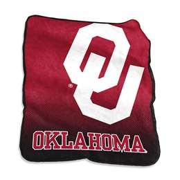 University of Oklahoma Sooners Raschel Throw Blanket