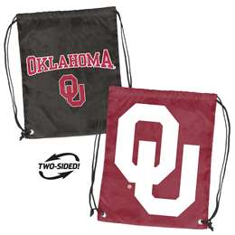 University of Oklahoma Sooners Doubleheader Backsack 87D - Dbl Head Strin