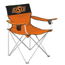 Oklahoma State University Cowboys Big Boy Folding Chair with Carry Bag