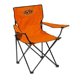Oklahoma State University Cowboys Quad Folding Chair with Carry Bag