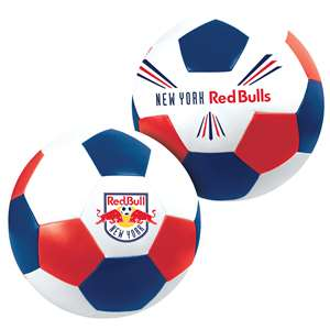 "New York Red Bulls Big Boy 8"" Softee Soccer Ball"
