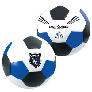 "San Jose Earthquakes Big Boy 8"" Softee Soccer Ball"