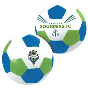"Seattle Sounders FC Big Boy 8"" Softee Soccer Ball"