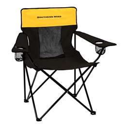 University of Southern Mississippi Elite Folding Chair with Carry Bag