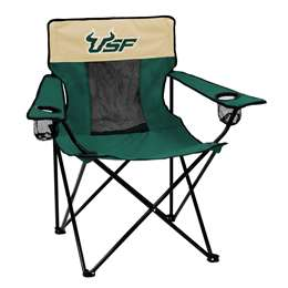 University of South Florida Bulls Elite Folding Chair with Carry Bag