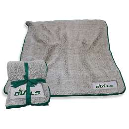 "University of South Florida Bulls Frosty Fleece Blanket 60"" X 50"""