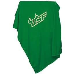 University of South Florida Bulls Sweatshirt Blanket