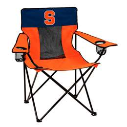 Syracuse University Orange Elite Folding Chair with Carry Bag