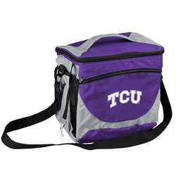 TCU Texas Christian University Horned Frogs 24 Can Cooler